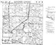 Spooner Township, Trego Township - South, Washburn County 1952